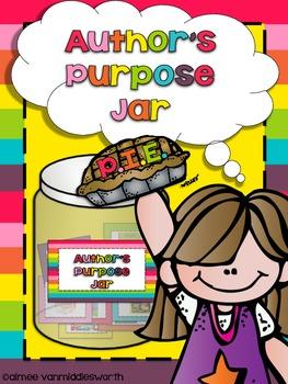 Author's Purpose Jar