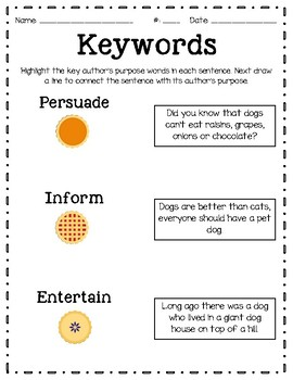 Authors Purpose Keywords Exit Sip