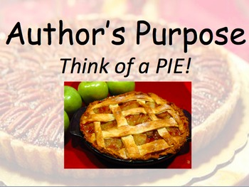 Author's Purpose Lesson with Videos!