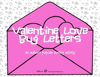 Author's Purpose Love Letters