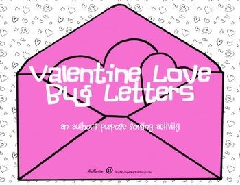 Author's Purpose Love Letters
