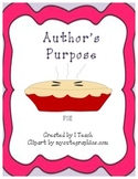 Author's Purpose-PIE