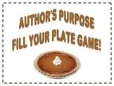 Author's Purpose PIE Game!