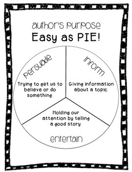 Author's Purpose - PIE Visual