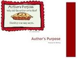 Author's Purpose: PIE'ED PPT