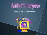Author's Purpose PPT