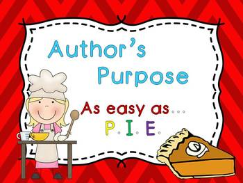 Author's Purpose PPT & Guided Notes {{Posters}}