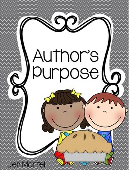 Author's Purpose Pack