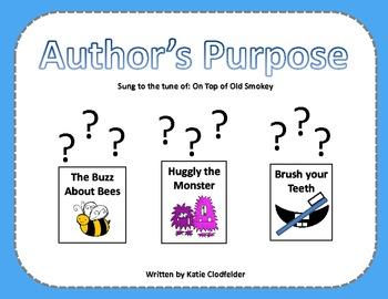 Author's Purpose Pack - CCSS Aligned