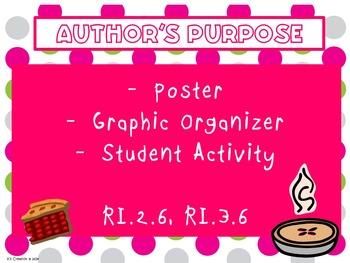 Author's Purpose Teaching Packet