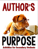 Author's Purpose- Persuade, Inform, and Entertain