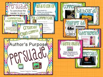 Author's Purpose-Persuade unit