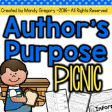 Author's Purpose: Centers and More!