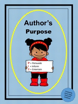 Author's Purpose Poem and Literacy Games
