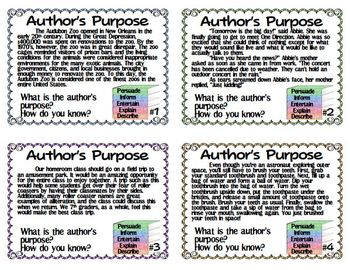 Author's Purpose Part Two - Teach Two Reach 2nd Grade Happenings