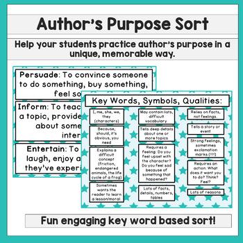Author's Purpose Power Pack