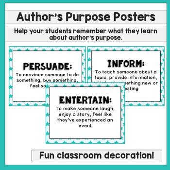 Authors Purpose Activities Interactive Notebook