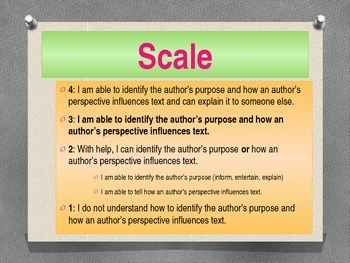 Author's Purpose Power Point