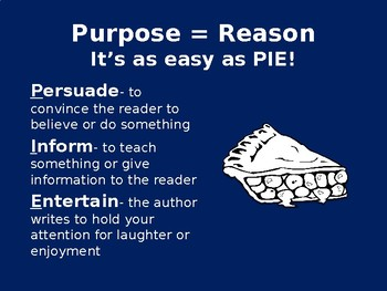Author's Purpose PowerPoint