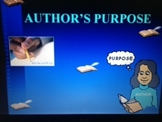 Author's Purpose PowerPoint grades 1-5 CCSS