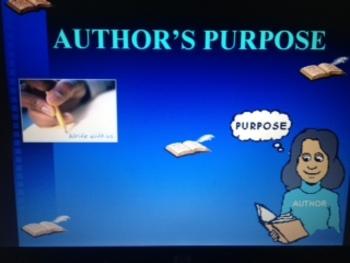 Author's Purpose PowerPoint grades 1-5 CCSS
