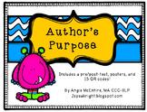 Author's Purpose QR Code Activity