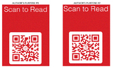 Author's Purpose QR Scanner Scavenger Hunt