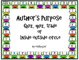 Author's Purpose: Quiz, quiz, trade