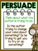 Author's Purpose Reading Comprehension Passages