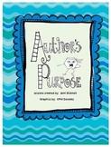 Author's Purpose Reading Skill Unit