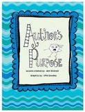 Author's Purpose Reading Skill Unit