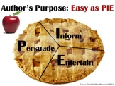 Author's Purpose Reading Strategy Visual