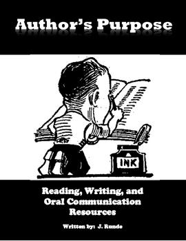 Author's Purpose Resources for Language Arts