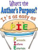 Author's Purpose Rubric