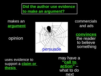 Author's Purpose SPIDER
