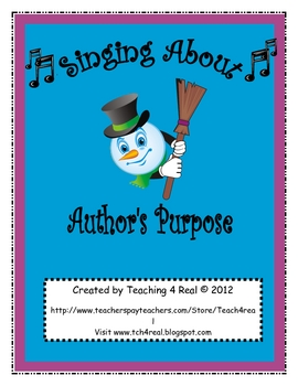 Author's Purpose Song: Reading Strategies