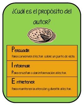 Author's Purpose-Spanish Version