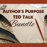Author's Purpose TED Talk Bundle