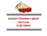 Author's Purpose Task Cards With Posters
