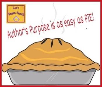 Author's Purpose Think-Pair-Share