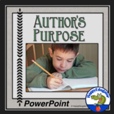 Author's Purpose PowerPoint Lesson and Activity