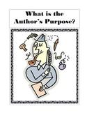Author's Purpose Unit - Entertain / Inform / Persuade