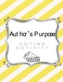 Author's Purpose Voting Cards
