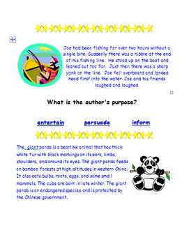 Author's Purpose Webquest