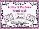 Author's Purpose With explicit visuals