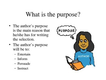 Author's Purpose and Point of View Review
