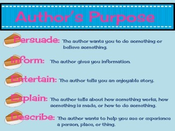 Author's Purpose by Thoughtfully Third