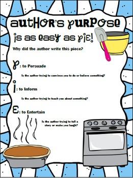 Author's Purpose in a Winter Wonderland