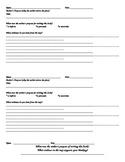 Author's Purpose poster & response options