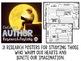 Authors Research Posters - Dr. Seuss, Roald Dahl, Eric Car